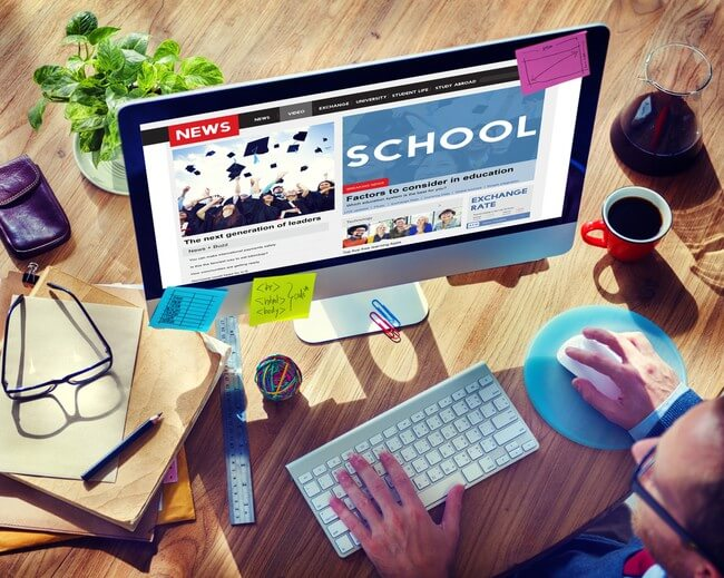 Rank your school's website higher in Google.
