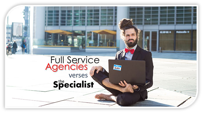 full service agencies vs the specialist