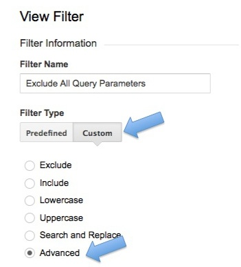Exclude All Query Parameters in Analytics