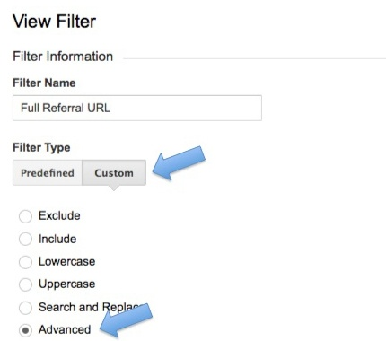 Full Referral Filter in Google Analytics