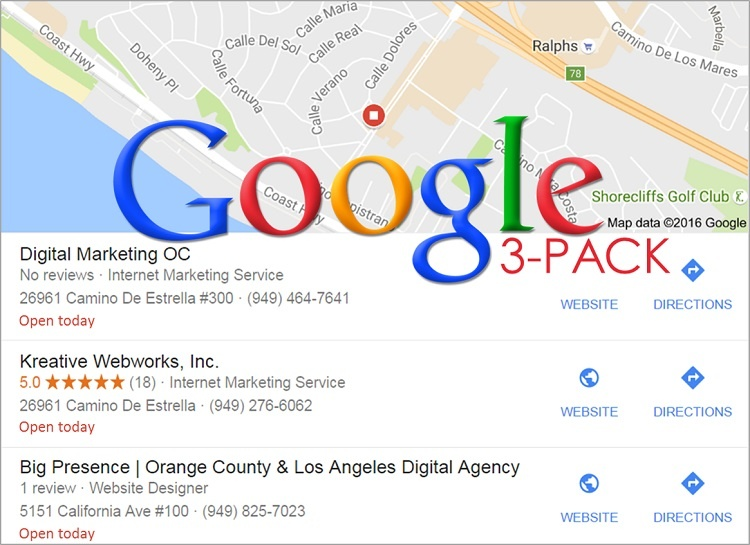 google three pack