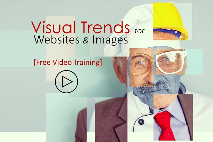 visual trends for websites and images