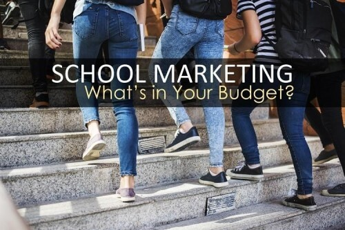 How much should a School Budget for Marketing?