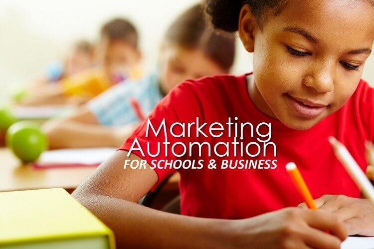 Marketing Automation Example for Schools
