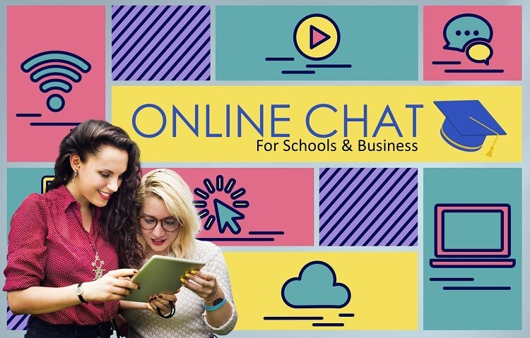 Live Chat for Schools & Businesses